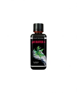 Hydrorobic Grow Shop Online | CALIBRATORE PH 4.01 FLACONE DA 300ML GROWTH TECHNOLOGY