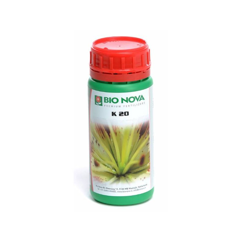 Hydrorobic Grow Shop Online | K-20% 250 ml BIO NOVA