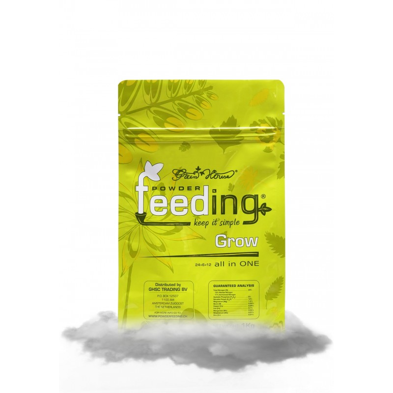 Hydrorobic Grow Shop Online | POWDER FEEDING GROW 1 Kg