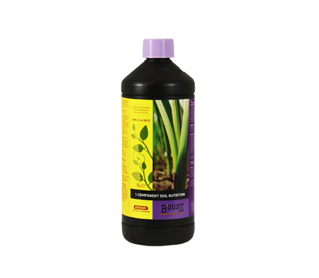 AA1055 Atami B'Cuzz Soil Nutrition 1-Component 1 L